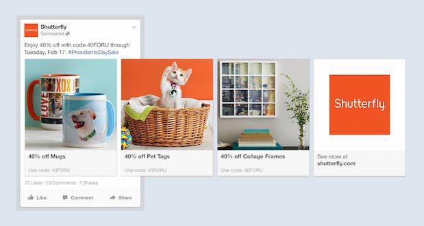 Angriff auf Google: Facebook launcht Product Ads
