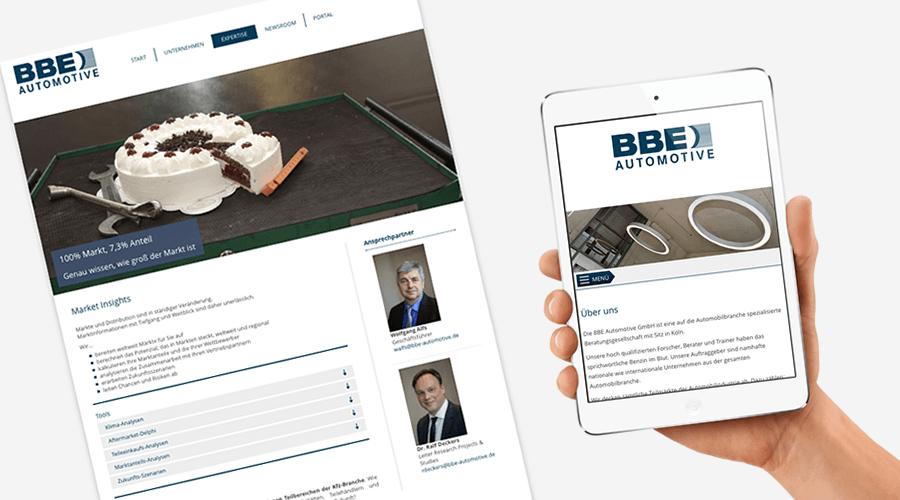BBE Automotive GmbH startet mit Joomla! Website durch