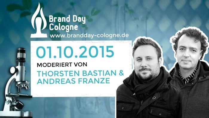 Thorsten Bastian und Andreas Franze sind Gastgeber des Brand Day Cologne