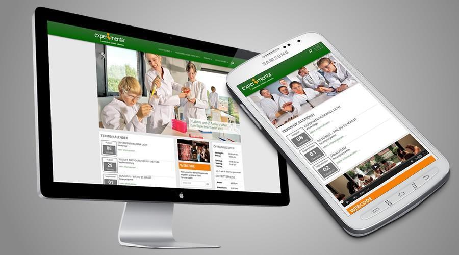 Neue Joomla! Website für die experimenta Heilbronn