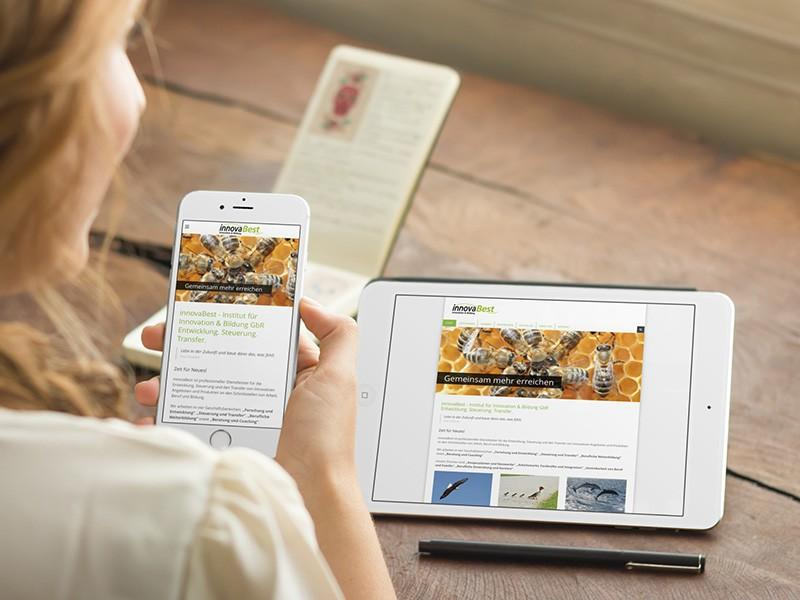 innovaBest - Responsive Relaunch mit CMS Joomla!