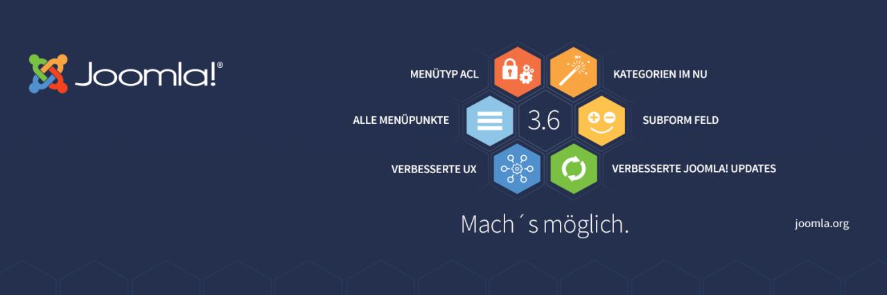Joomla! 3.6.0 erschienen - Alle Neuerungen auf einen Blick