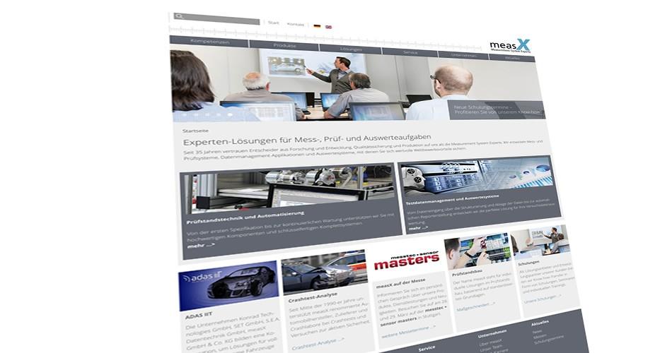 measX startet mit neuer Joomla! Website durch