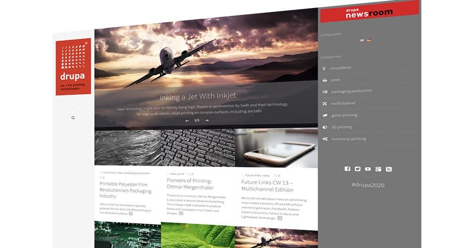 drupa - Neues Weblog für die weltgrößte Print-Messe