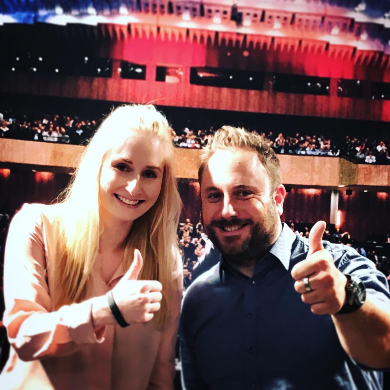Nina und Thorsten auf der Vertriebsoffensive 2018