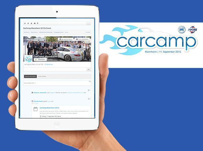 CarCamp Community auf Joomla! Basis