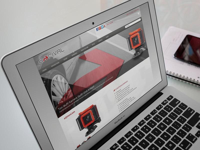 a-rival Website & Shop